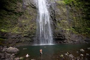 Водопад Ханакапиаи, Гавайи