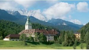 Бавария. Замок Эльмау