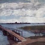 Остров Херренинзель на озере Кимзе