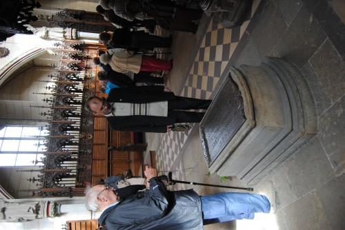 могила Лютера в Городской церкви