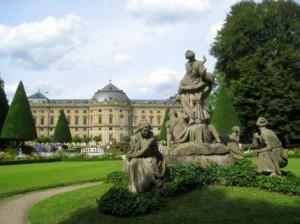 Вюрцбургская резиденция. История и внутреннее убранство