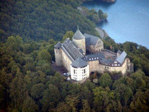 Гессен. Замок Вальдек