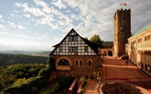 Тюрингия. Замок Вартбург. История от позднего средневековья до наших дней