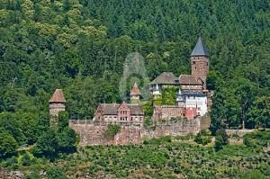 Баден-Вюртемберг. Крепость Цвингенбург
