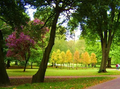 Городские парки по всей Европе