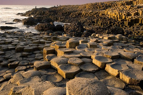 europe, great britain, northern ireland, the coast of the Giant's Causeway